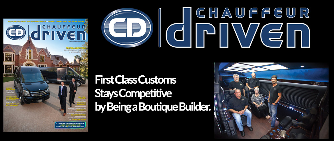 Chauffeur Driven Cover Story On First Class Customs!