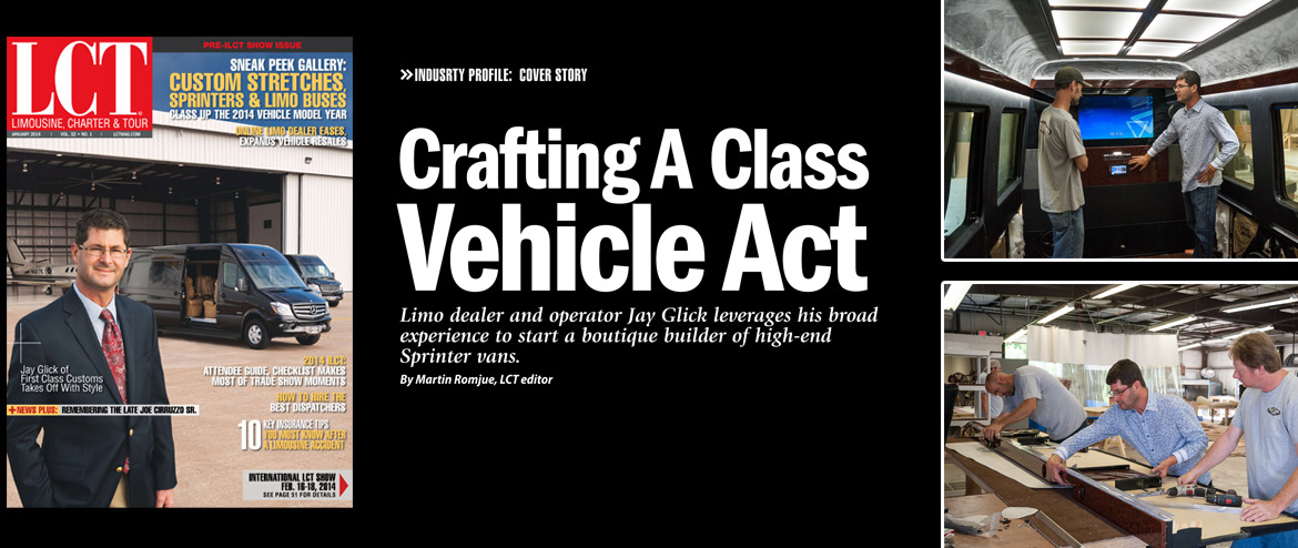 First Class Customs Makes The Cover Of LCT!